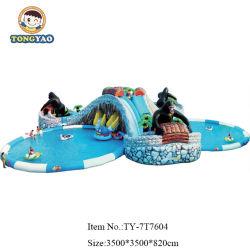 Grande Parque inflável flutuante, Outdpoor Piscina Equipamentos insufláveis