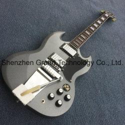 マホガニーボディ首カスタム橋Sgのエレキギター(SG-08)