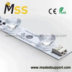 Vue latérale de barre d'éclairage à LED Ce RoHS 12V LED SMD 3030 Barre rigide Bande LED de l'éclairage