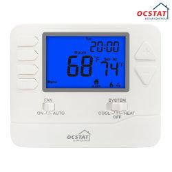 Thermostaat van de Controle 2cool van de Thermostaat 2heat van de Zaal van Ocstat de Digitale Programmeerbare Slimme