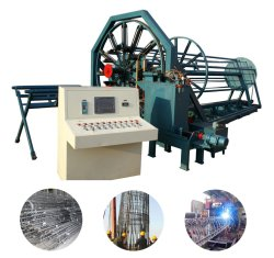 Друга стальной каркас для плат автоматическая сварка каркаса машины используется для принятия конкретных трубопровода