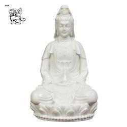 Le fournisseur Buddha statue de marbre Kuan Yin Sculpture Mfsg Prix-49