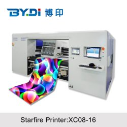 La Chine usine a utilisé un rouleau à bon marché de l'industrie des textiles de coton de l'imprimante numérique