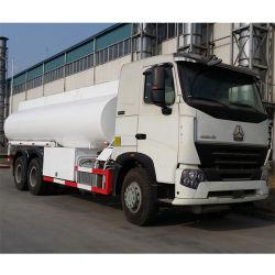 HOWO A7 6X4 380HP 20000L 연료 탱커 트럭