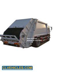 Isuzu 4X2 grande puissance 240PS compacteur de déchets solides véhicule