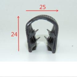 La puerta de la junta de goma para el guarnecido de la puerta del automóvil el protector de borde