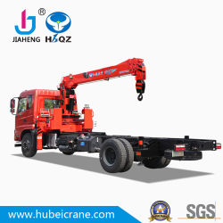 Camion Mounted&#160 di HBQZ 4X2; Crane 7 Tons Lifting Capienza