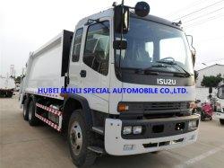 중국 최고 가격 Isuzu 6X4 10wheelers 쓰레기 패물 쓰레기 압축 분쇄기 압축 트럭