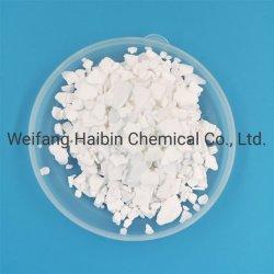 77%のOil&Gasの訓練のための最小の二水化物の薄片のCacl2カルシウム塩化物