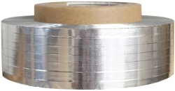 Cinta de aluminio de Pet para el cable eléctrico con adhesivo térmico
