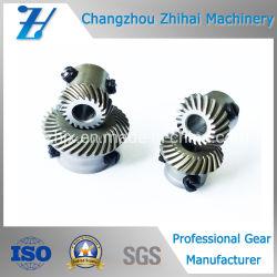 Pignon conique hélicoïdal de machine à textile utilisé comme pièces de rechange