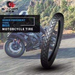 20 Anos ISO9001 personalizados por grosso de fábrica padrão misto motocicleta Tubeless/tubo de borracha de Pneus Pneus/B010 2.75-18