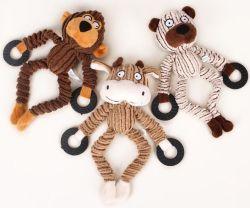 Cão de Estimação de brinquedo Squeaker produtos de alimentação animal de estimação de pelúcia Toy