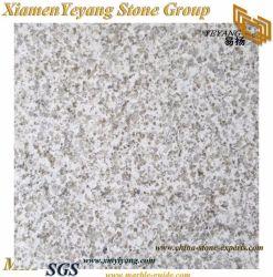 Pearl en granit blanc carreaux de plancher pour l'Étage/mur