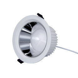 Ugr<19 profunda Anti Glare Lâmpada do Refletor 10W/15W/20W/30W/40W/50W SMD LED interior de tecto regulável rebaixada Spot luz para baixo