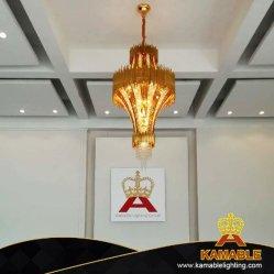 Hôtel de luxe lustre décoratifs la pendaison d'éclairage de la poignée de commande (PK06312)