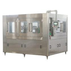 La línea de la botella de bebida de la planta Zhangjiagang// bebida carbonatada Soda zumo/refresco o agua pura agua mineral de llenado de líquido de la máquina de embotellamiento automático