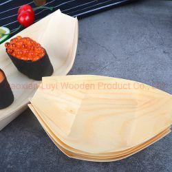 Wegwerpbare houten boot van 9 inch