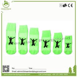 El mejor venta Unisex trampolín antideslizamiento calcetines con patrones de goma en stock