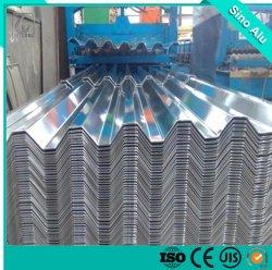 Горячая продажа другой толщины сплава 1050 1060 3003 3105 гофрированный алюминиевого листа пластину с ISO