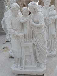 Diseño de escultura de mármol natural artesanal