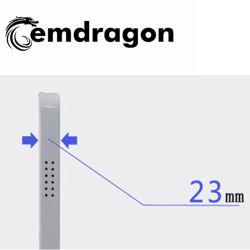 Wireless Advertising Player 21.5 pollici lettore pubblicitario HD 3G WiFi Cartellonistica digitale LED Kiosk video ad Player con funzione stabile