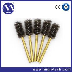 Spazzola industriale personalizzata del tubo della spazzola per la spazzola metallica di lucidatura di sbavatura della spazzola di setola (TB-100058)