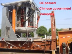 Aquecimento elétrico Industrial IGBT Kgps Tratamento forno eléctrico de fusão por indução