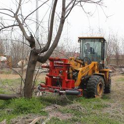 I migliori cesoie idrauliche dell'albero di marca 0512 dell'HCN di qualità compatibili al caricatore del manzo di pattino del gatto selvatico, all'escavatore ed alla strada del caricatore da vendere
