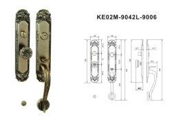 مقبض الزنك ذو مقبض الباب قفل في لوحة كبيرة للفيلا والباب الخارجي