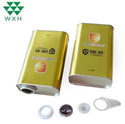 يمكن لزيت تشحيم 5L تغليف قصدير معدني بأغطية معدنية