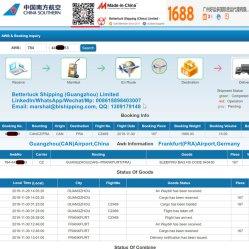 aereo da trasporto da Guangzhou a servizio di logistica dello spedizioniere di Francoforte Germania