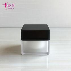 30g Quadrada Embalagem Cosméticos Acrílico Nata jars/Embalagem Plástica misturador