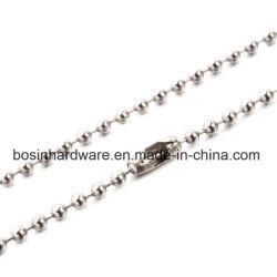 ステンレス鋼のビーズの球の鎖のネックレス