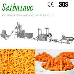 إنتاج رقائق الذرة خط نيك ناك كوارن مصنع تصنيع الخصل آلة تحضير الوجبات الخفيفة مع الجبن المقلي المشوي