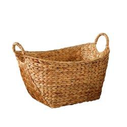Tecidos de grande Aguap Natural lavandaria a cesta para vestuário