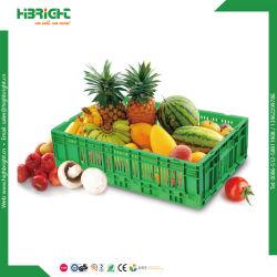 Supermercado /Store Plasitc caja plegable de frutas
