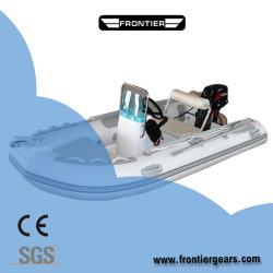 18 футов специализированные ПВХ белый коллор резиновой лодке Dinghy алюминиевый пол жесткой спорта Халл надувные лодки в отеле расходные материалы