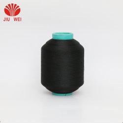 Filato metallico di lavoro a maglia del cotone coperto poliestere elastico della gomma DTY dello Spandex della tessile per i calzini