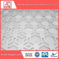 Aço inoxidável// Latão perfurado de alumínio painel Tela esculpida de divisor de quarto