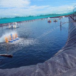 خزان مادة البناء 1 مم بطانة حوض السمك البلاستيكي التركيبي للتزليق ورقة البطانة المقاومة للماء HDPE Geomembane