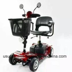 De elektrische Autoped van de Mobiliteit met Autoped van de Mobiliteit van de Rem van Vier Wielen de Magnetische met Zetel Confortable