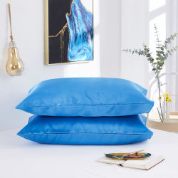 Cassa di seta del cuscino della seta artificiale delle federe della federa molle all'ingrosso del raso