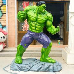 L'acier de la résine Iron Man figure Statue en fibre de verre