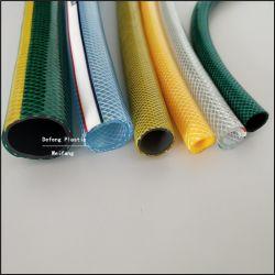 Ménage polyester souple en PVC flexible renforcé/tuyau utilisé pour transmettre l'eau, huile, en poudre