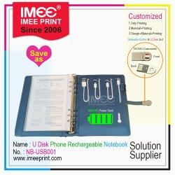 Imeeのカスタム印刷のペンのリスト・ストラップのNamecardの電話再充電可能な力USBのフラッシュ駆動機構のディスクの昇進の昇進のギフト