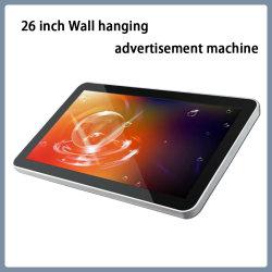 26-дюймовый настенный висящих реклама машины реклама плеер светодиодный дисплей рекламы