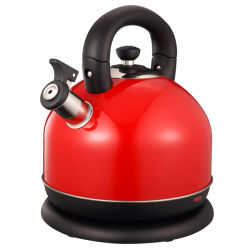 家庭電化製品の大きいプラスチックはステンレス鋼の電気熱のやかんの給湯装置のやかんを覆った