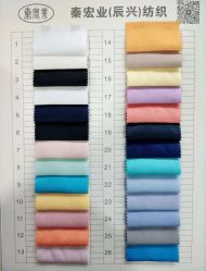 Tessuto del raso del cotone di Fshion del pannello esterno del vestito dalla camicia dell'indumento della tessile