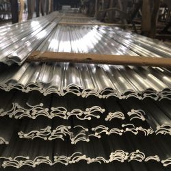 Molen of de Geanodiseerde of Uitgedreven Profielen van de Deklaag van de Macht Aluminium voor het Systeem van de Ventilatie van de Lucht